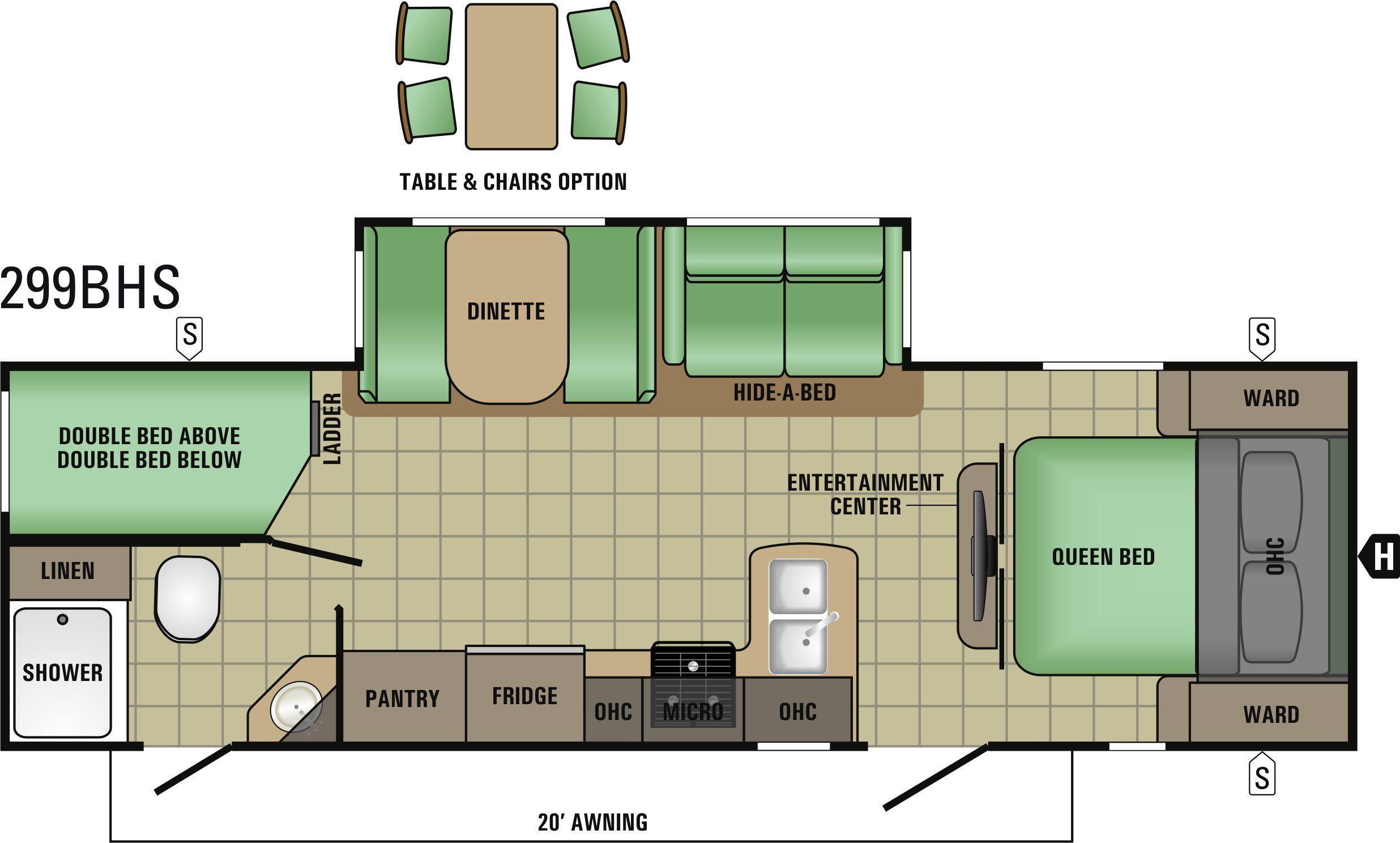 299BHS Floorplan