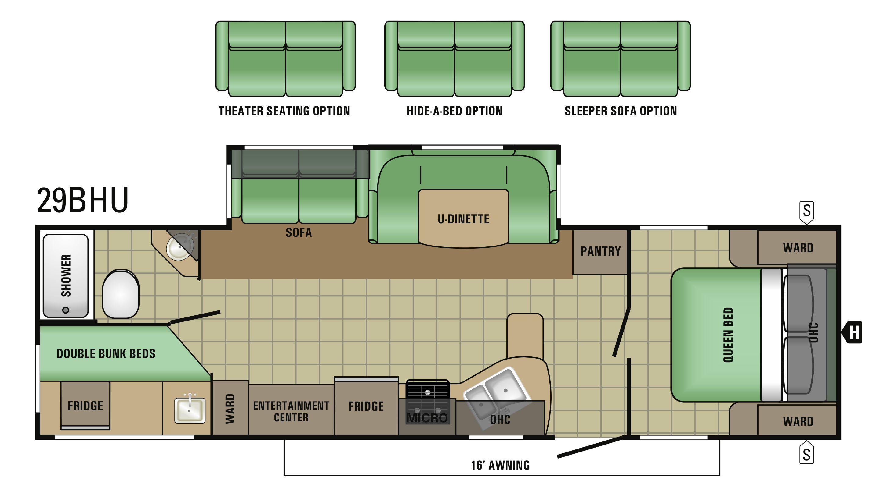 29BHU Floorplan