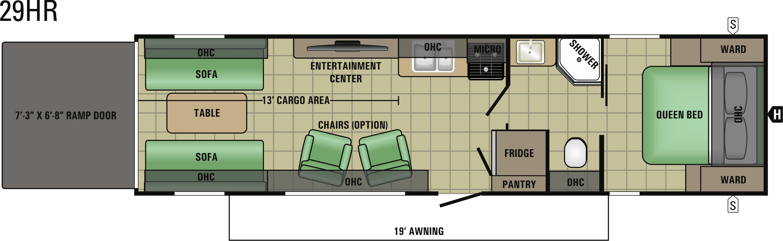 29HR Floorplan