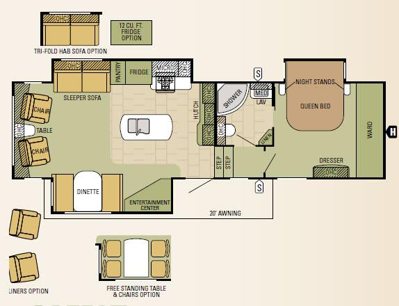 305RLT Floorplan
