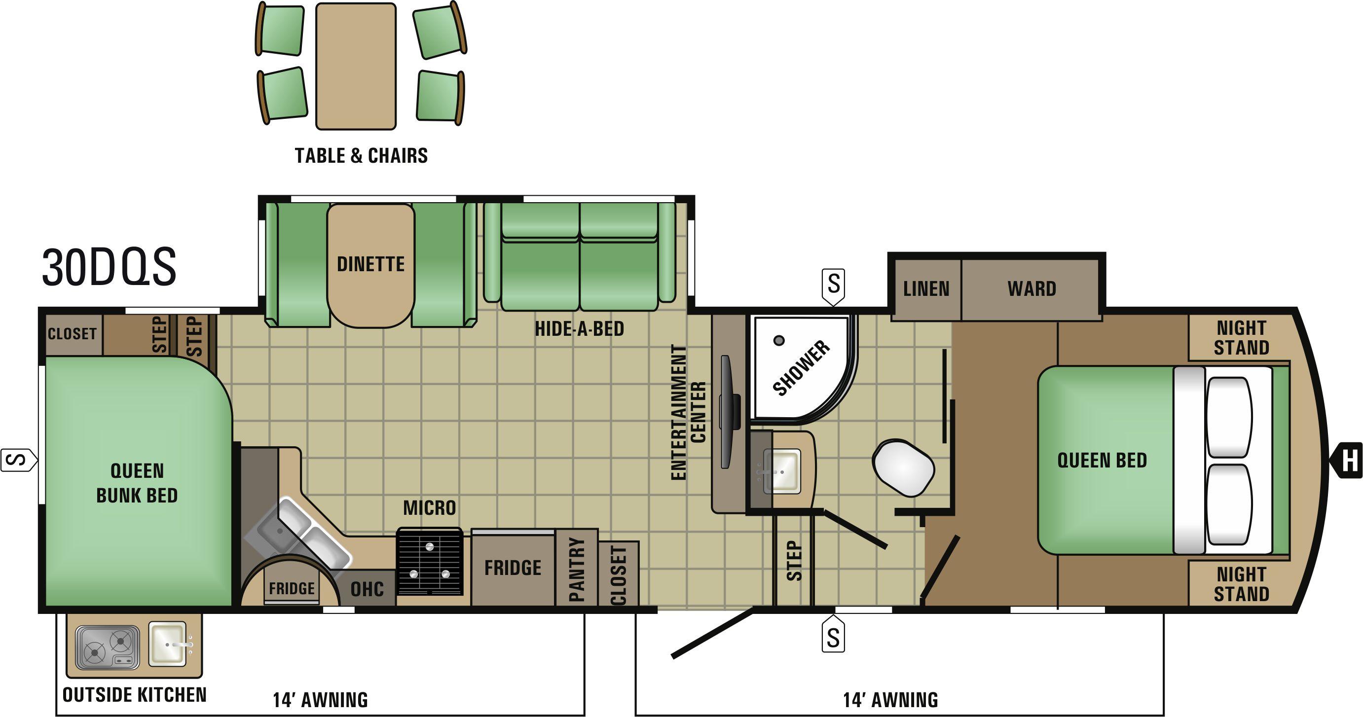 30DQS Floorplan