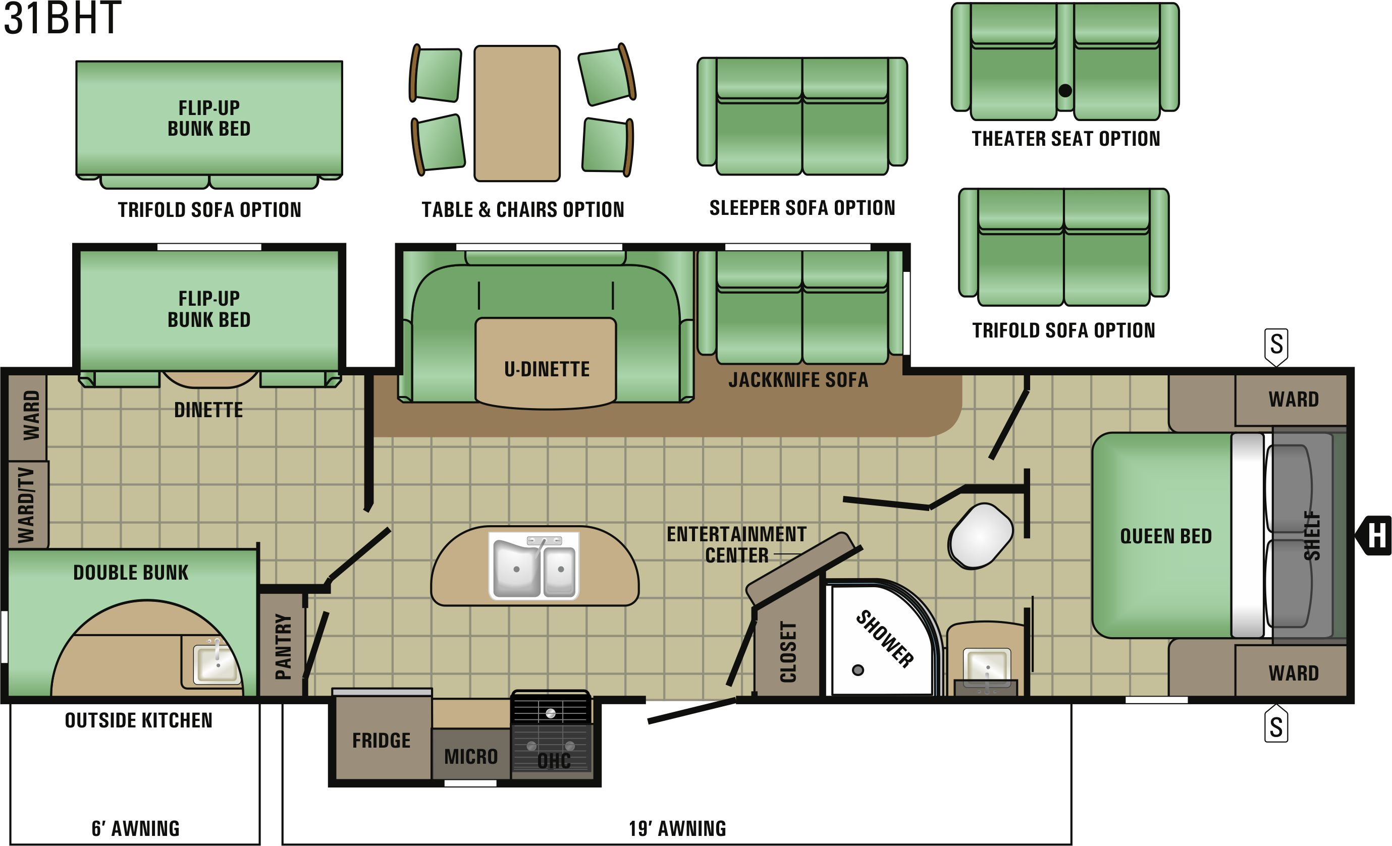 31BHT Floorplan