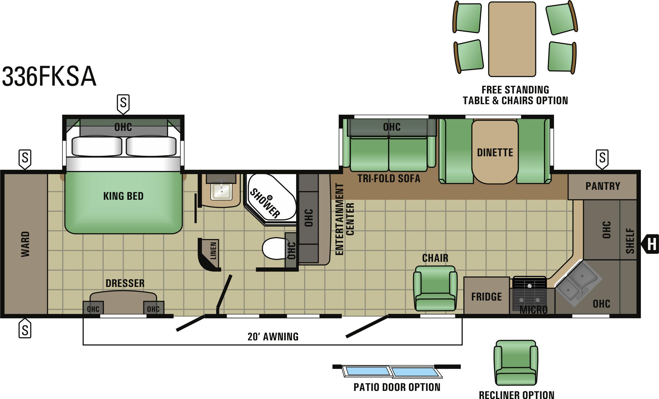 336FKSA Floorplan