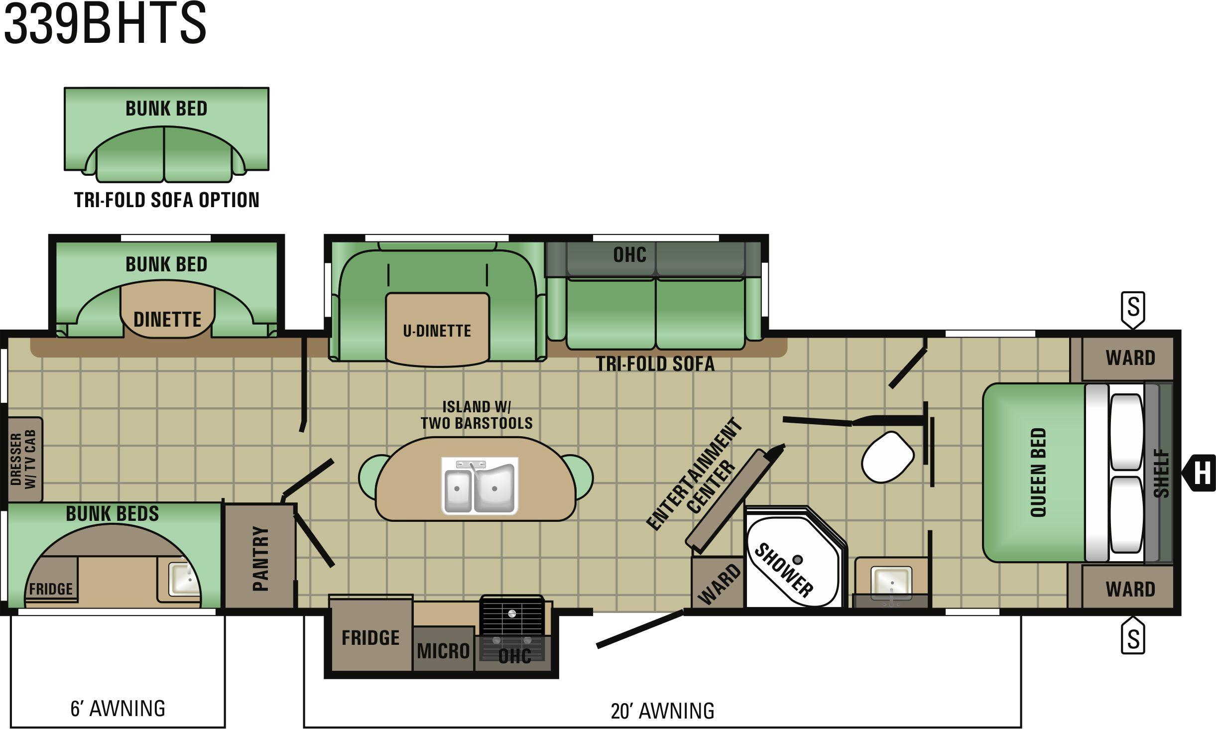 339BHTS Floorplan