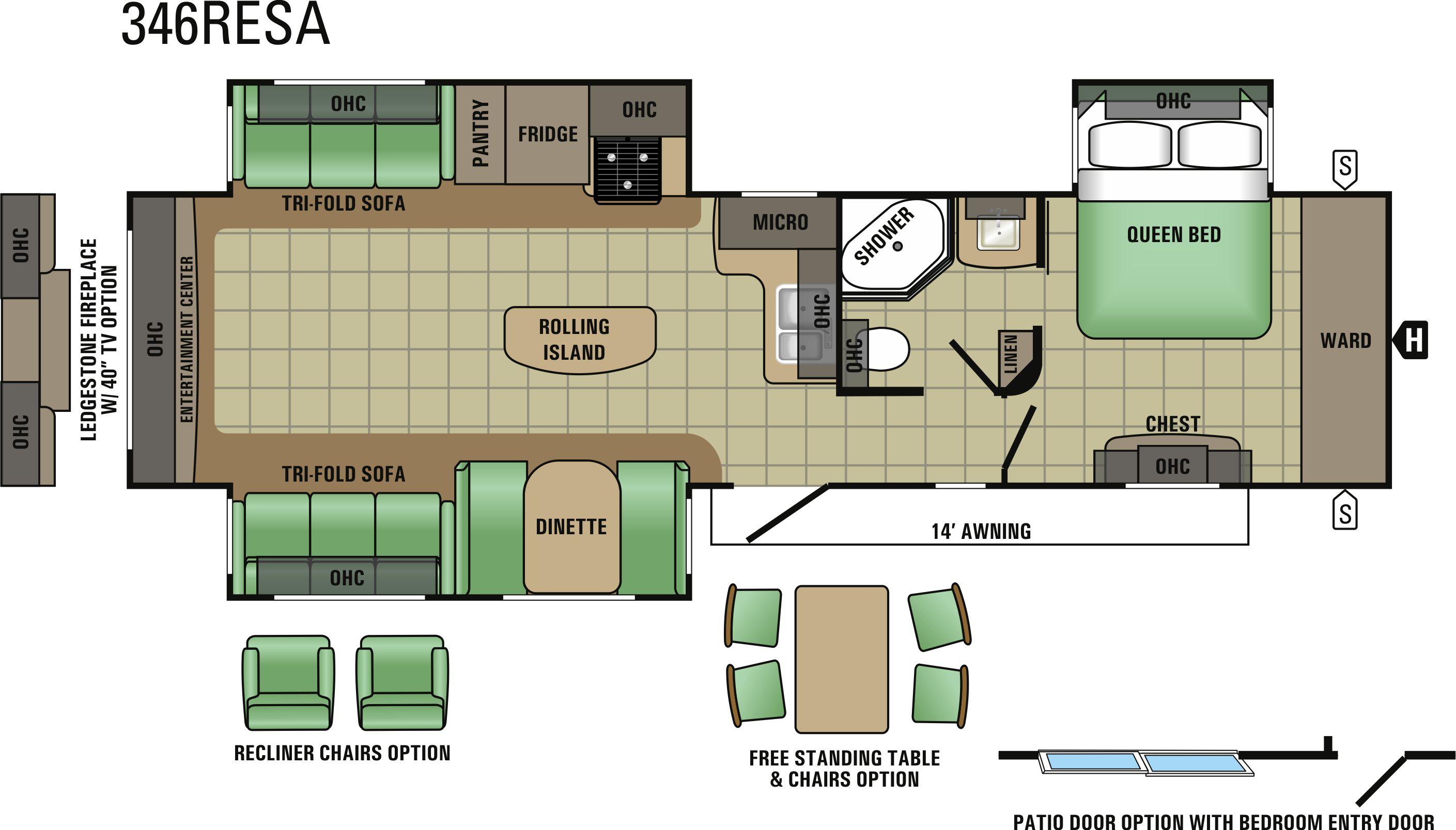 346RESA Floorplan