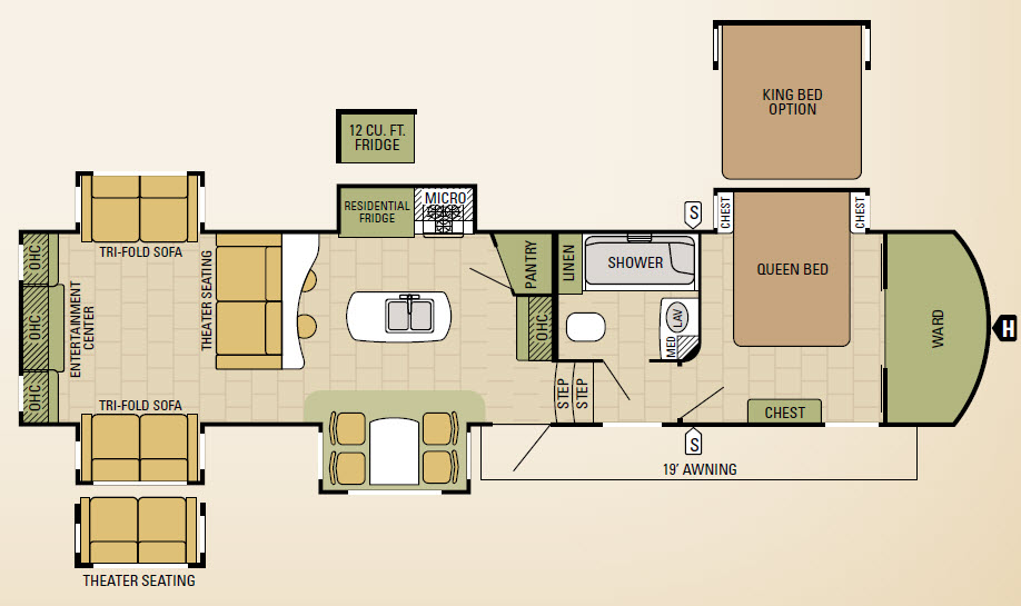377RDEN Floorplan