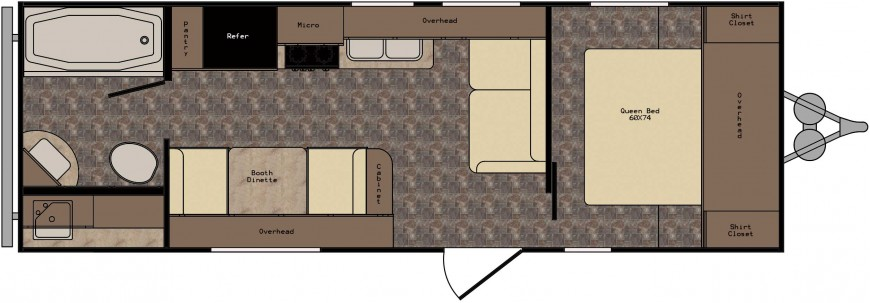 ZT231FB Floorplan