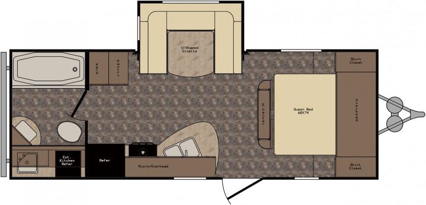 ZT225RB Floorplan