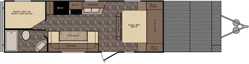 ZT252TD Floorplan