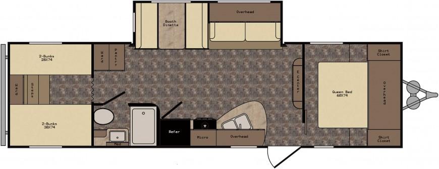 ZT301BH Floorplan