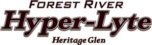 Wildwood Heritage Glen Hyper Lyte Fifth Wheel Logo