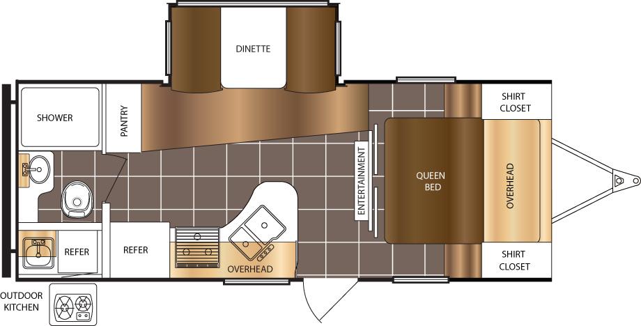 230FBS Floorplan