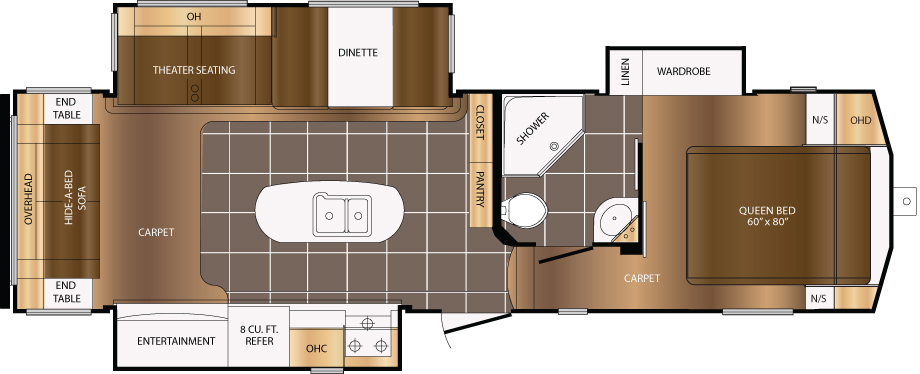 295RST Floorplan