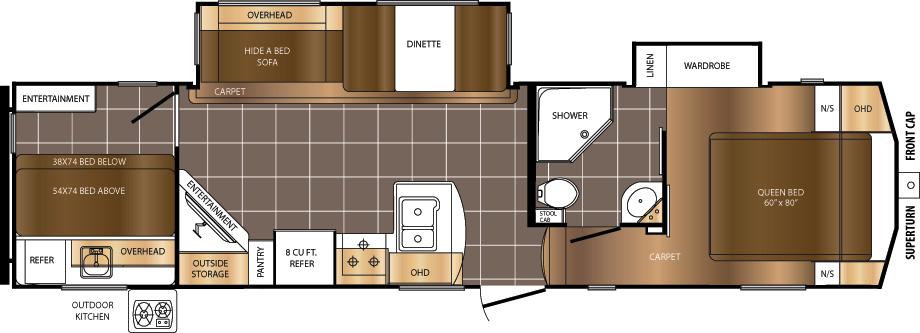 296BHS Floorplan