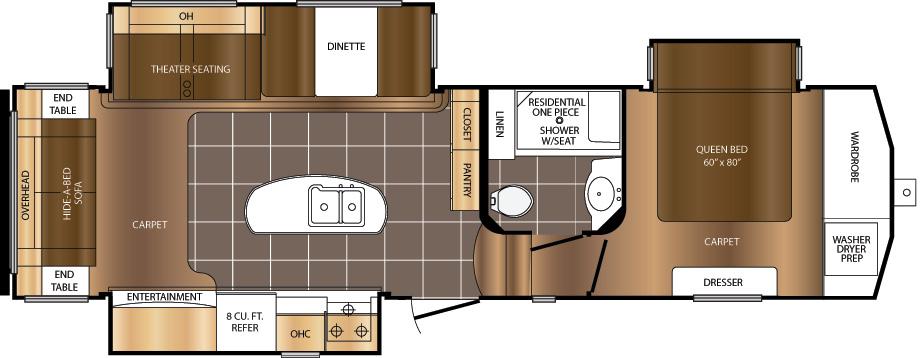 315RST Floorplan