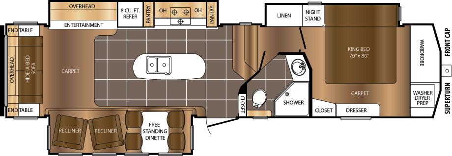 334CKT Floorplan