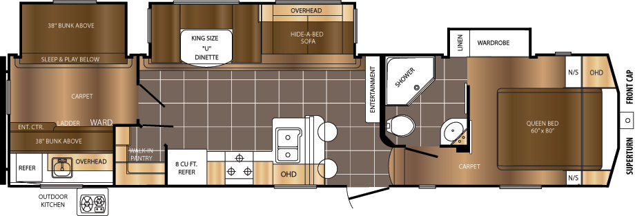 335BHS Floorplan