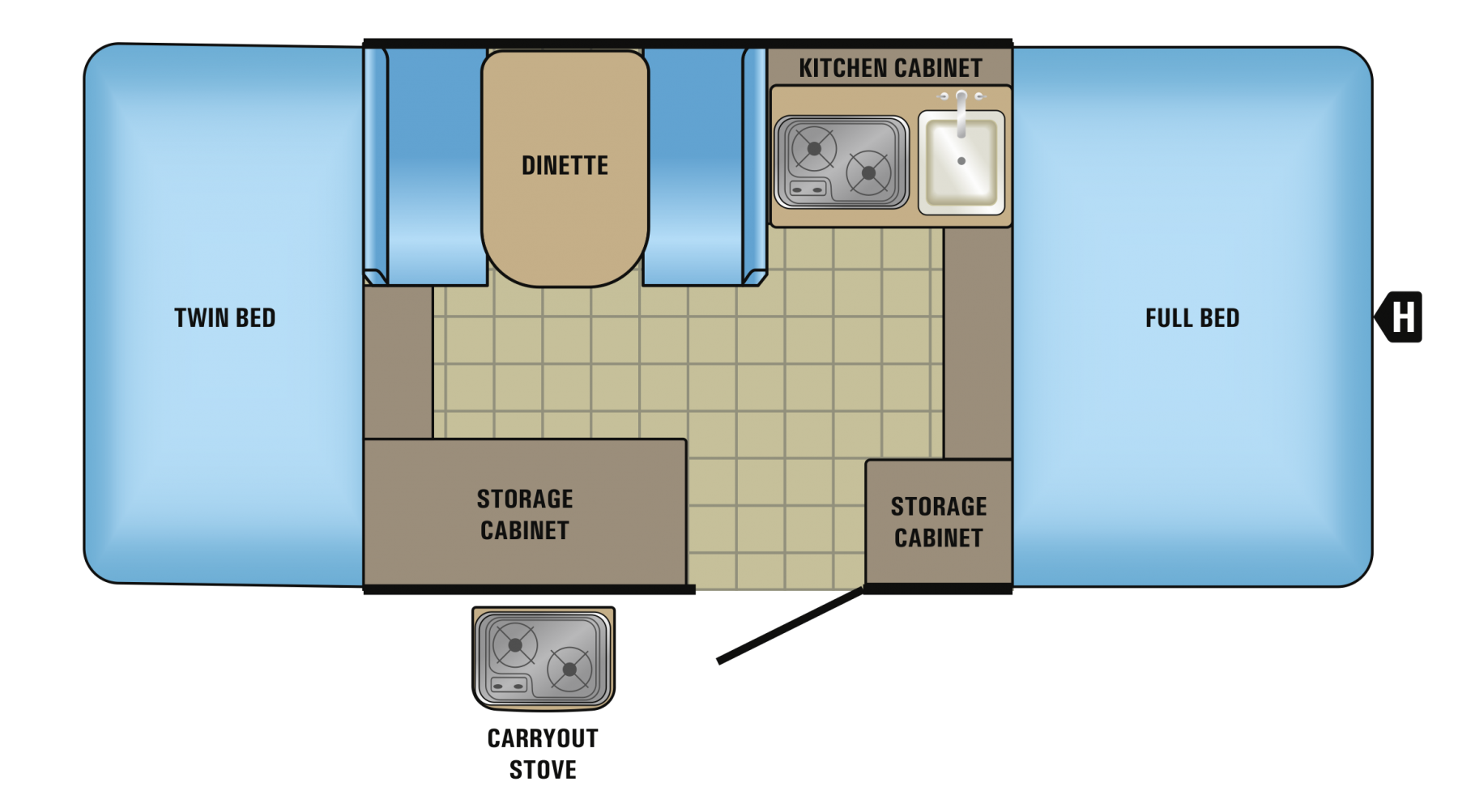 8SD Floorplan