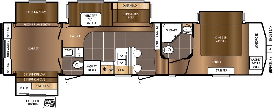 360BHS Floorplan