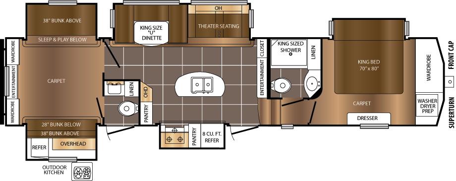 370BHQ Floorplan