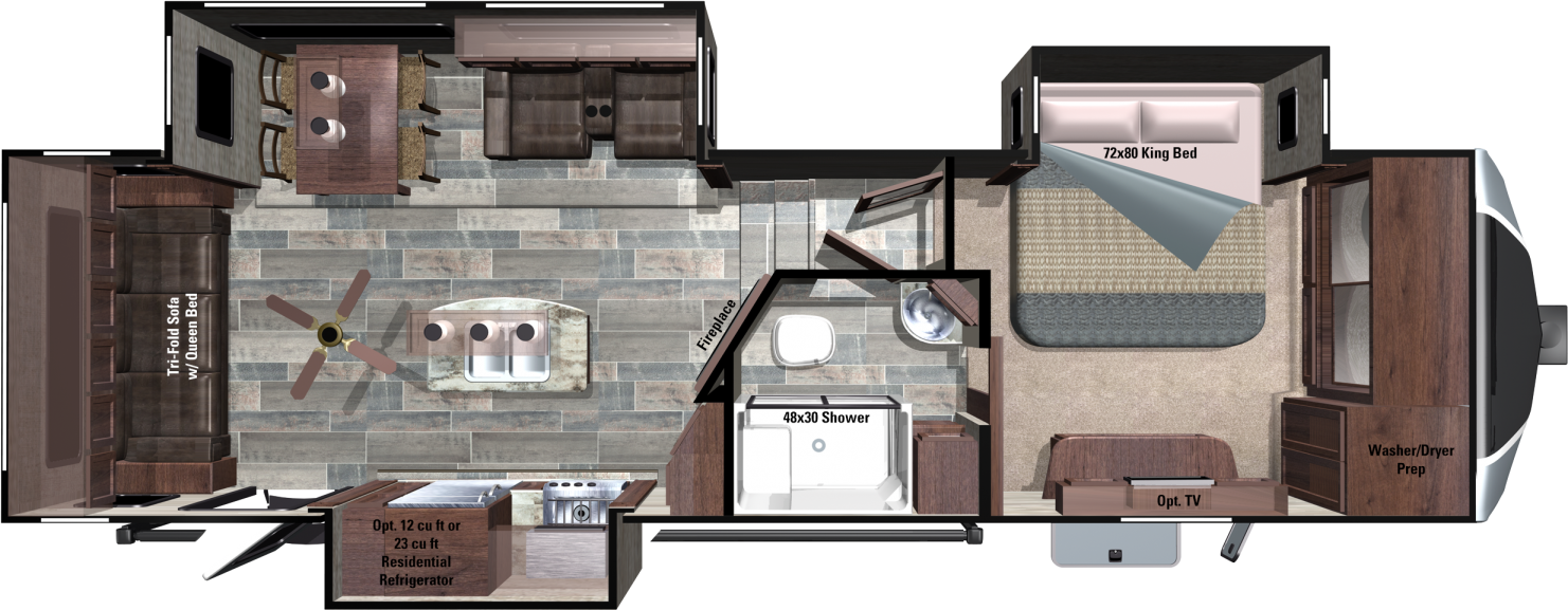 3X309RLS Floorplan