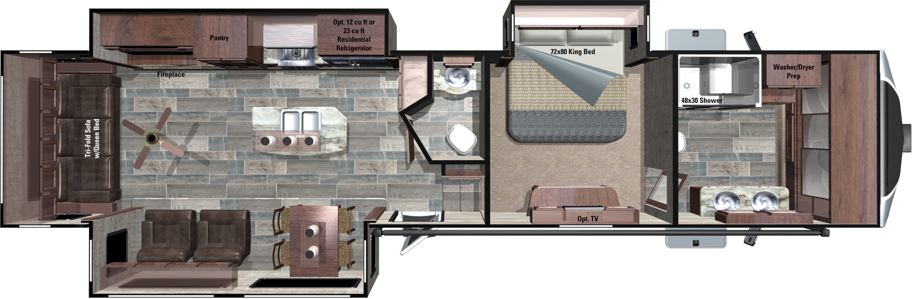 3X397FBS Floorplan
