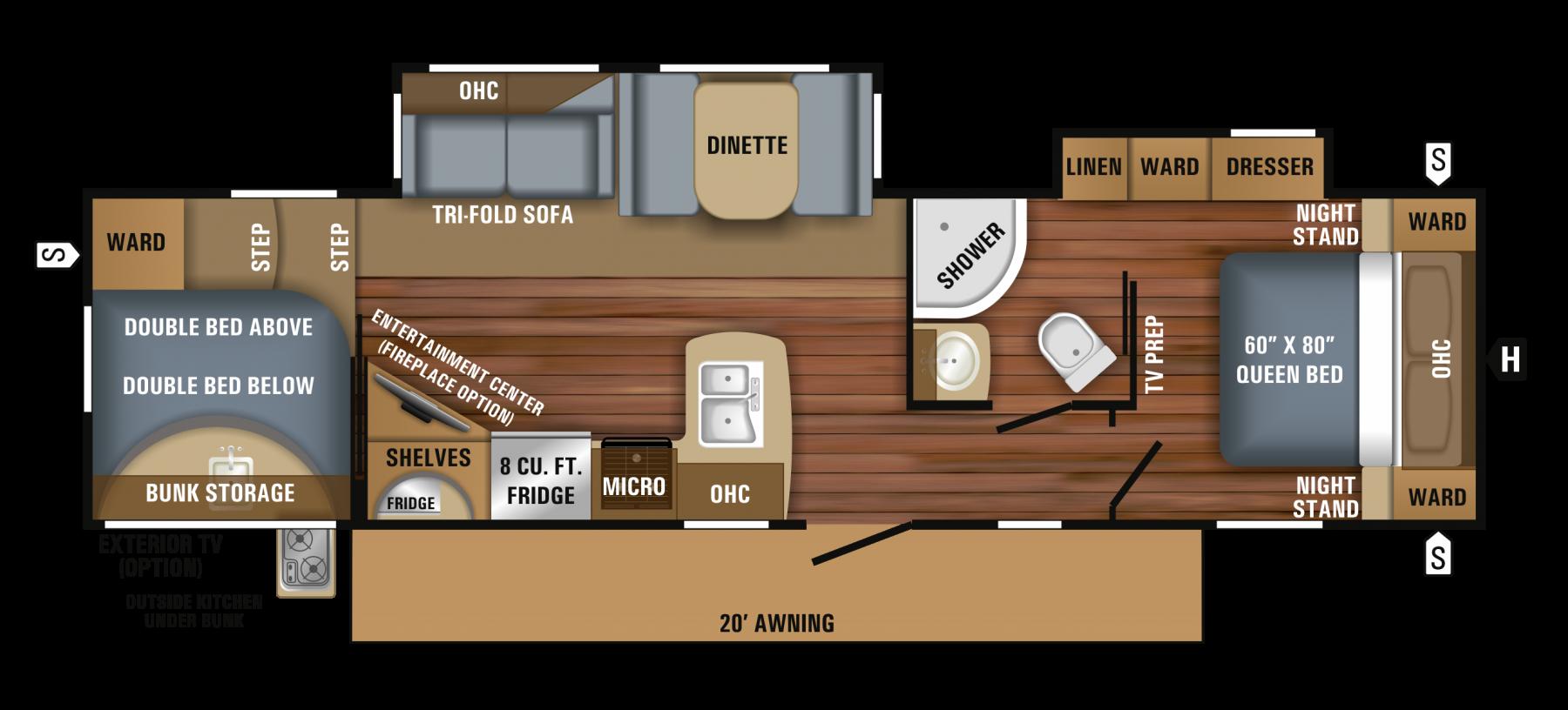 295DBOK Floorplan