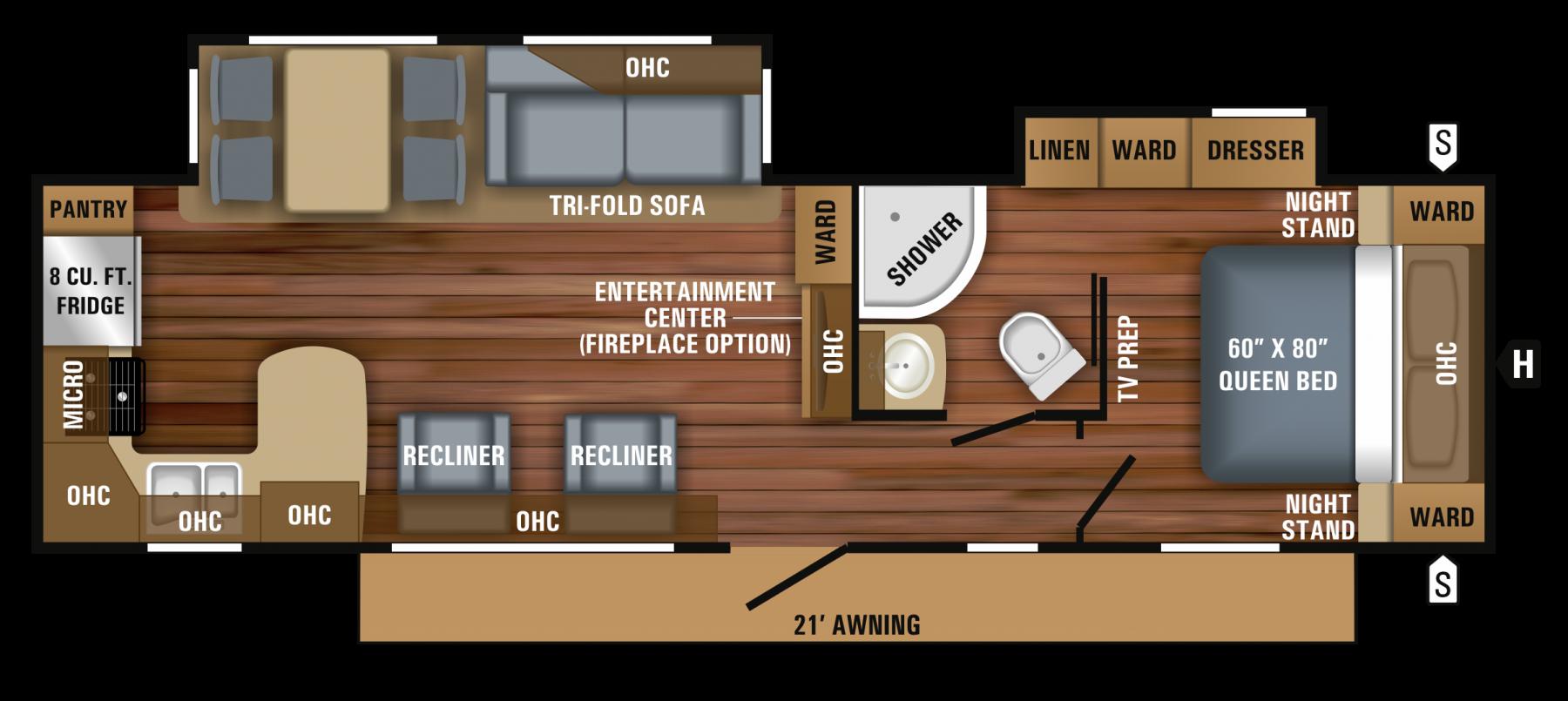 306RKDS Floorplan