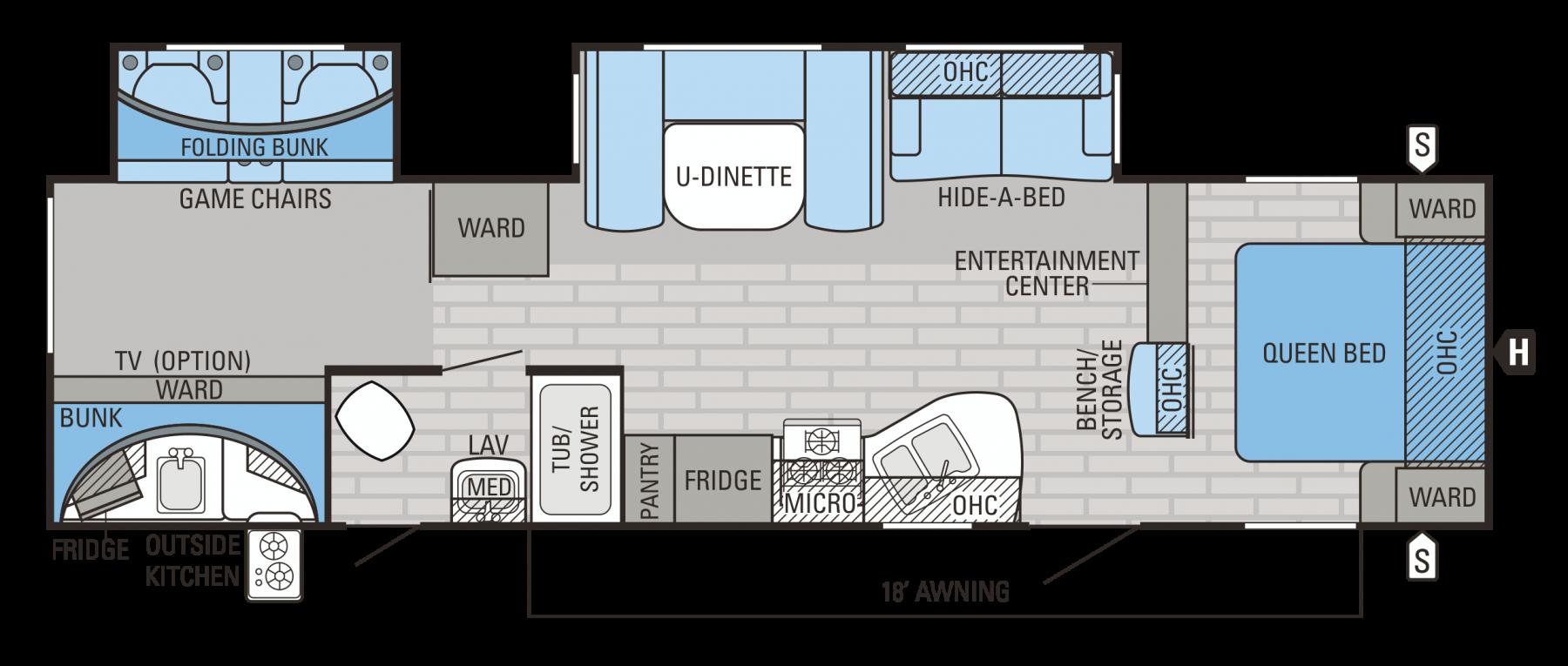 314BHDS Floorplan