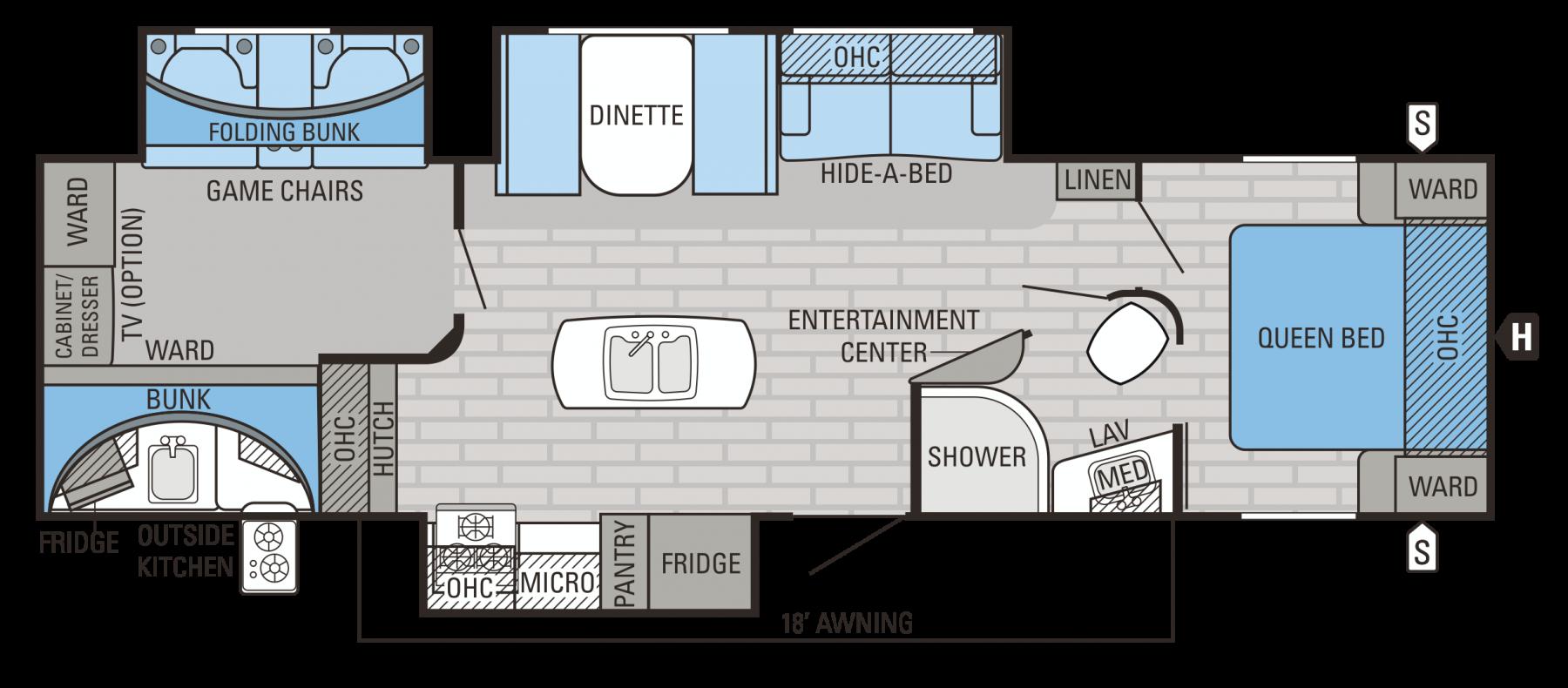 324BHTS Floorplan