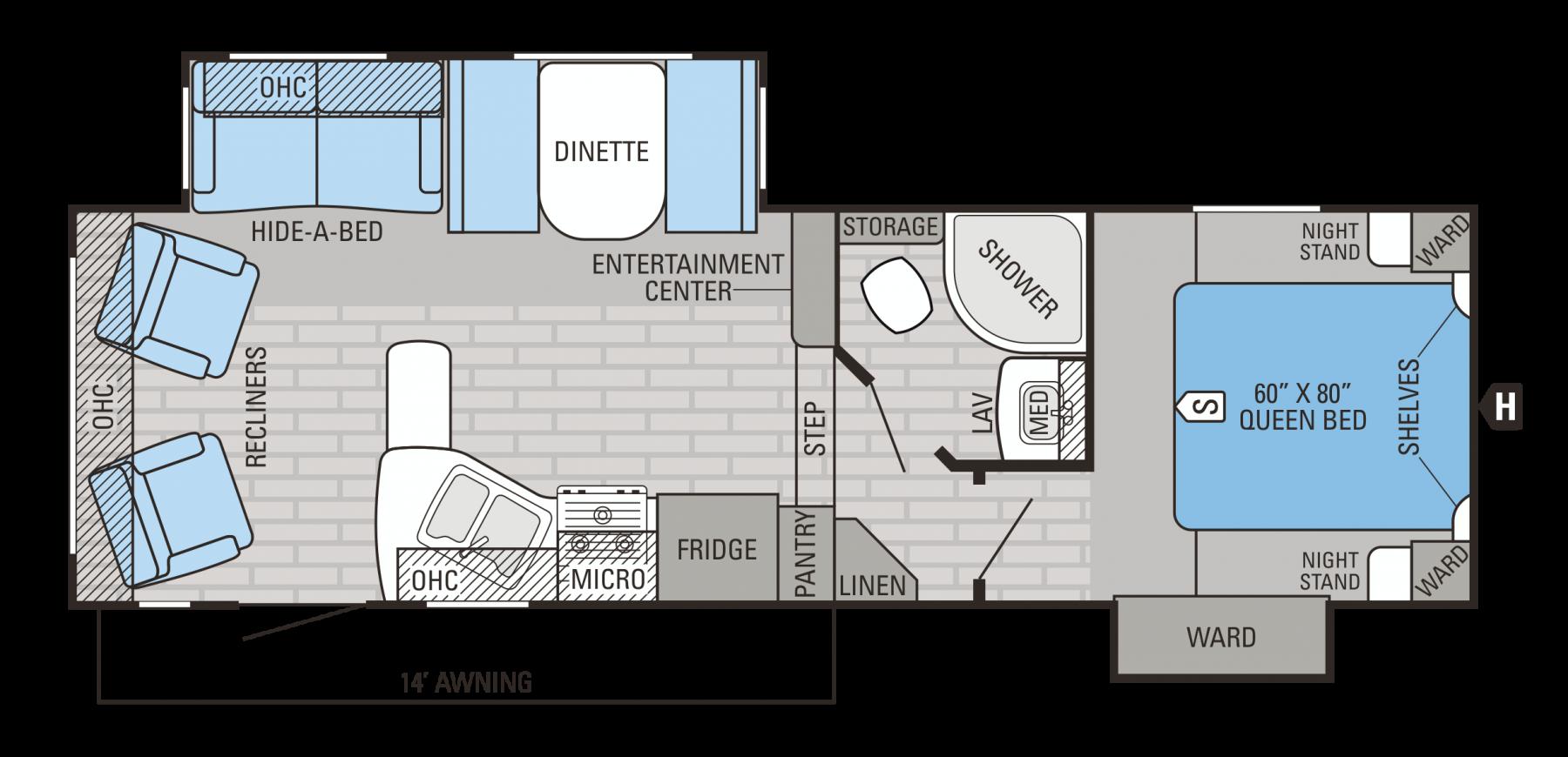 26.5RLS Floorplan