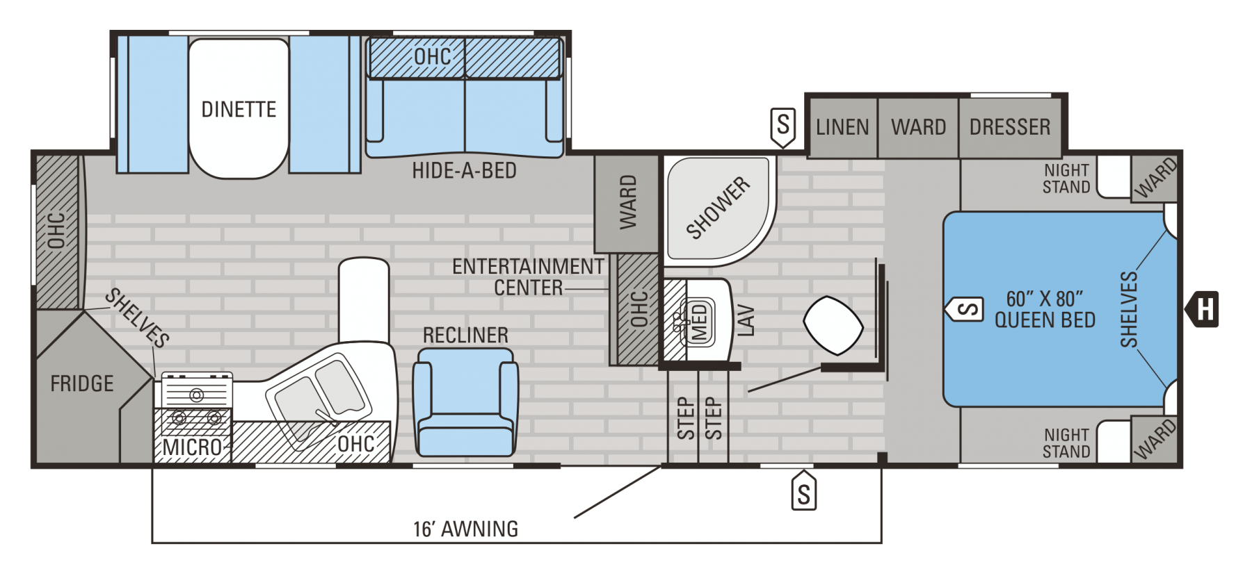 27.5RKDS Floorplan