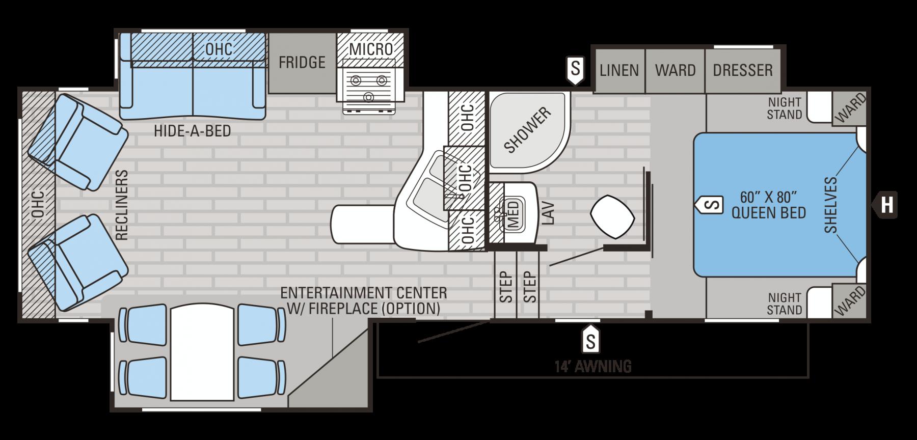 27.5RLTS Floorplan