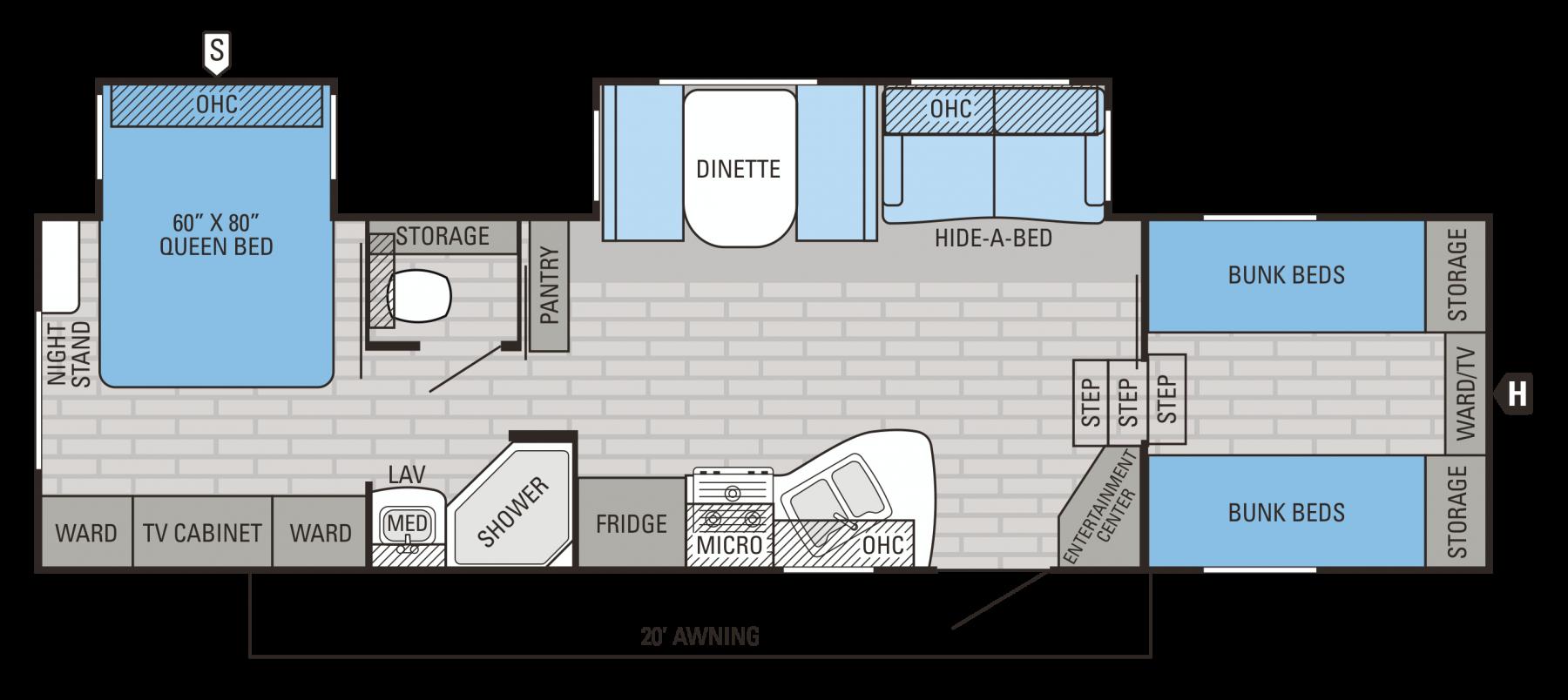 29.5FBDS Floorplan