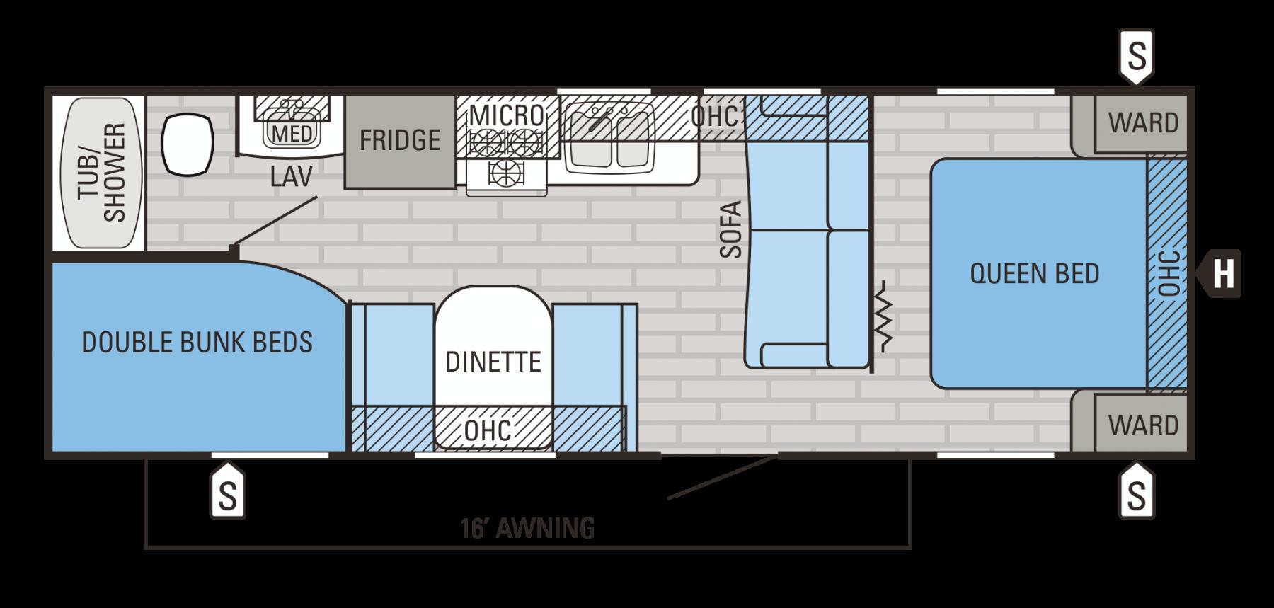 26BH Floorplan