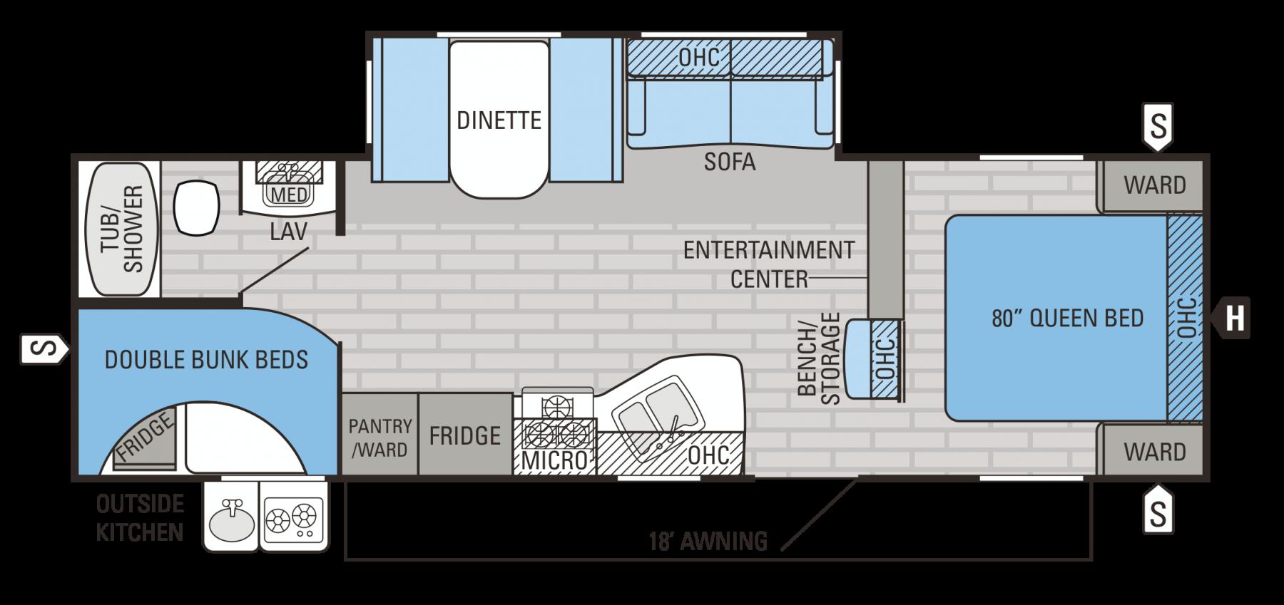 27BHS Floorplan
