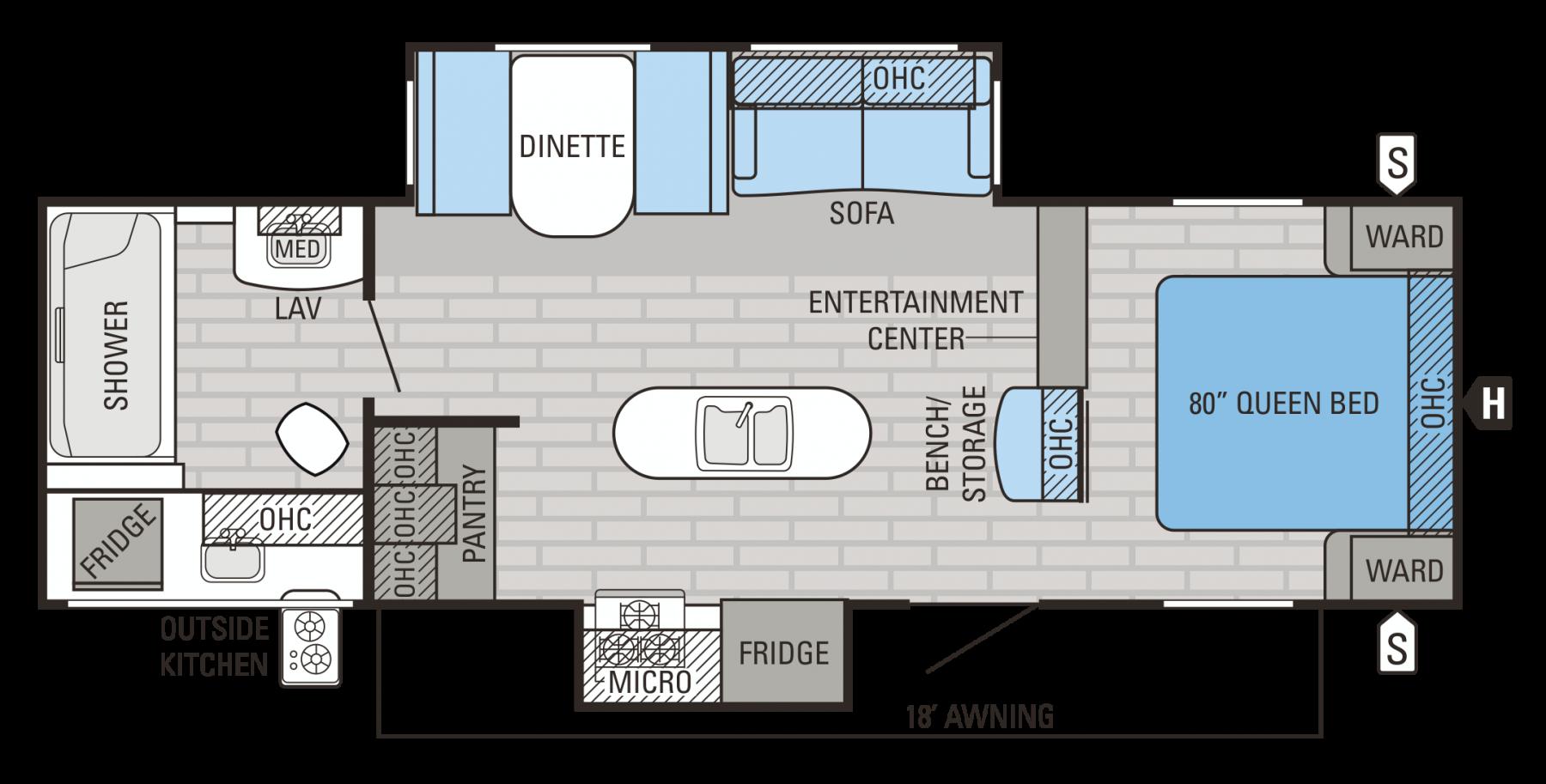 28RBDS Floorplan