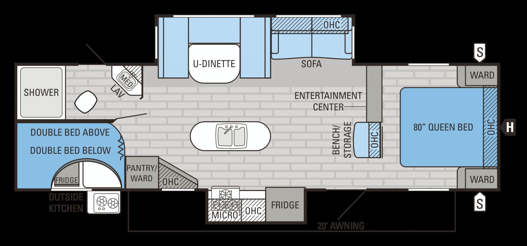 29BHDS Floorplan