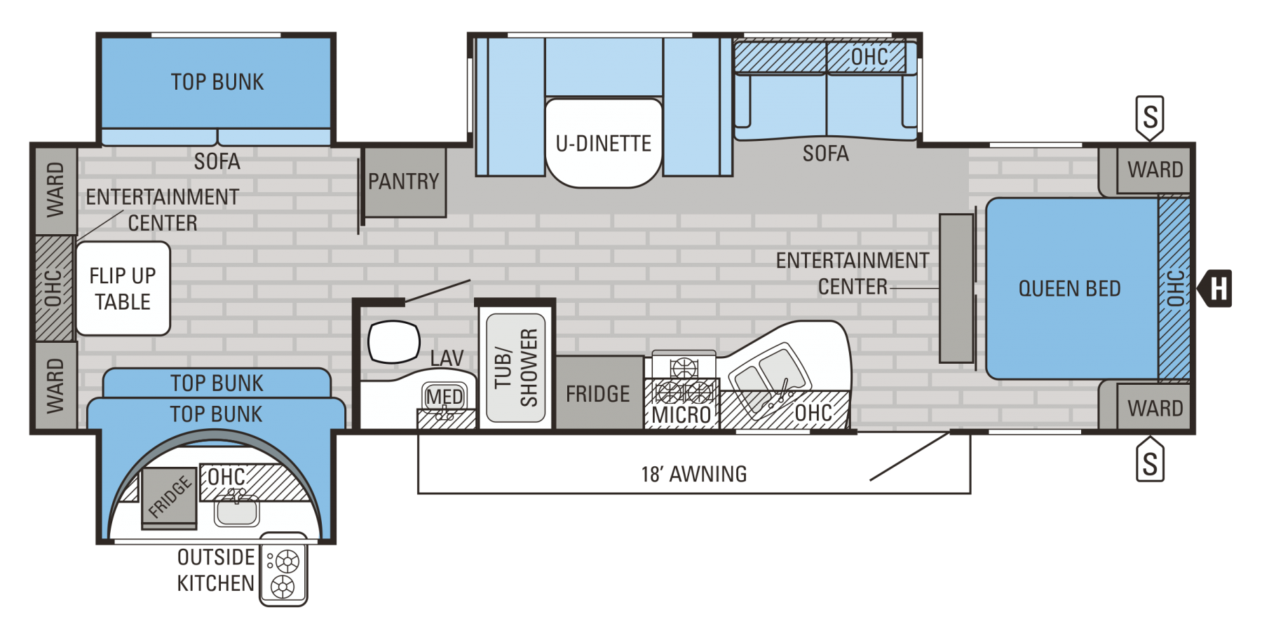 32TSBH Floorplan