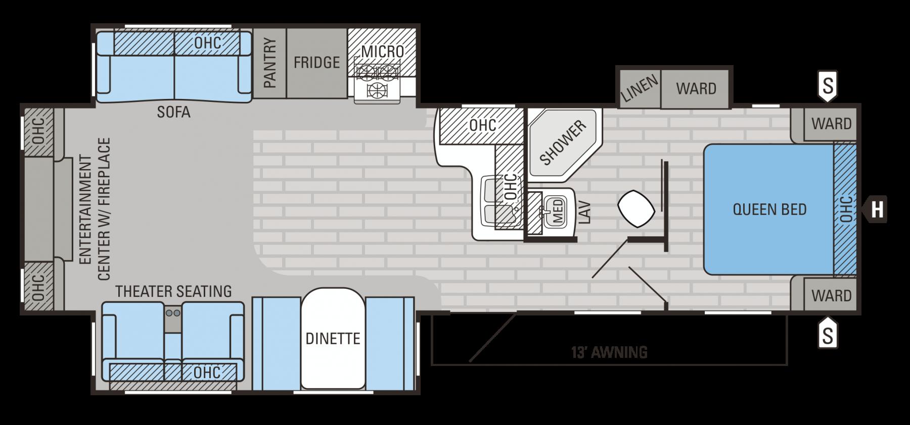 33RLDS Floorplan