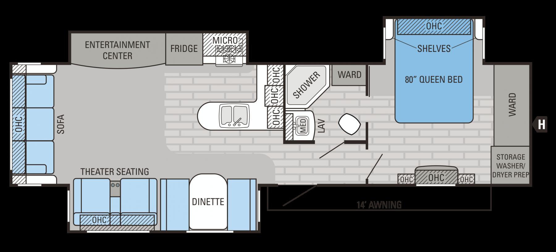 34RSBS Floorplan