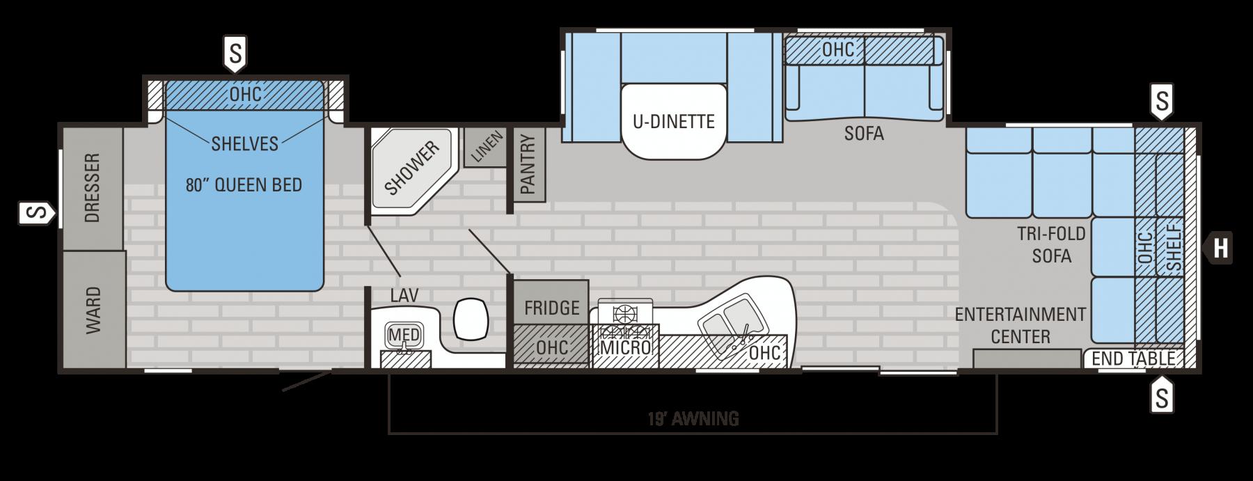 38FDDS Floorplan