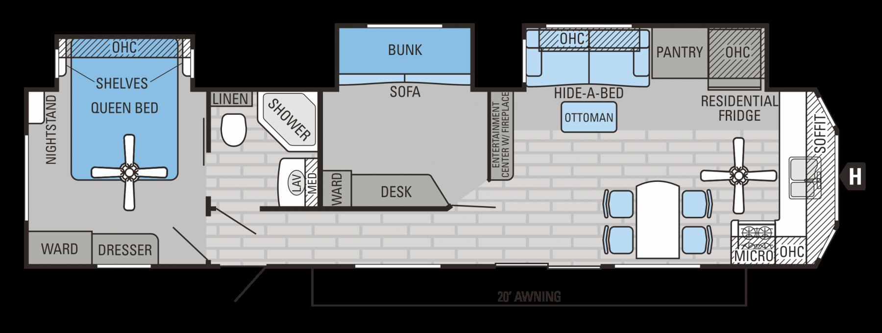 40BHTS Floorplan