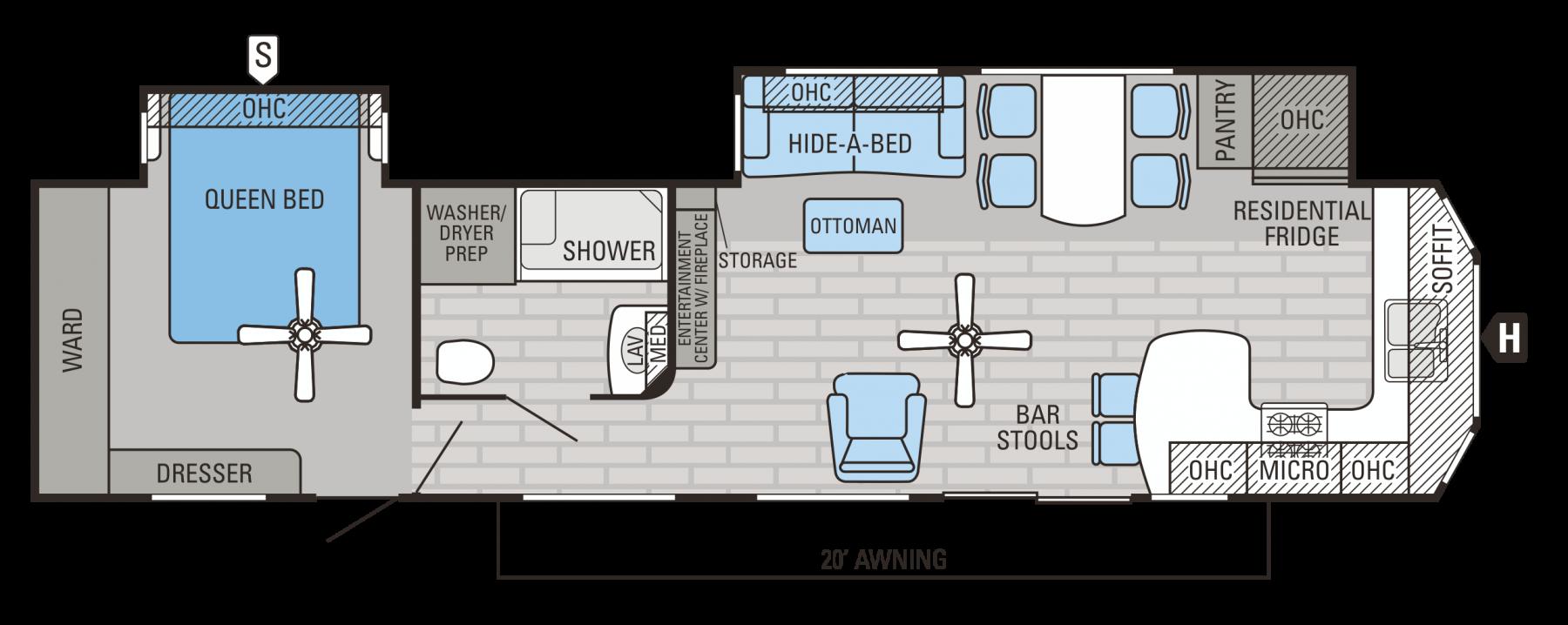 40FKDS Floorplan