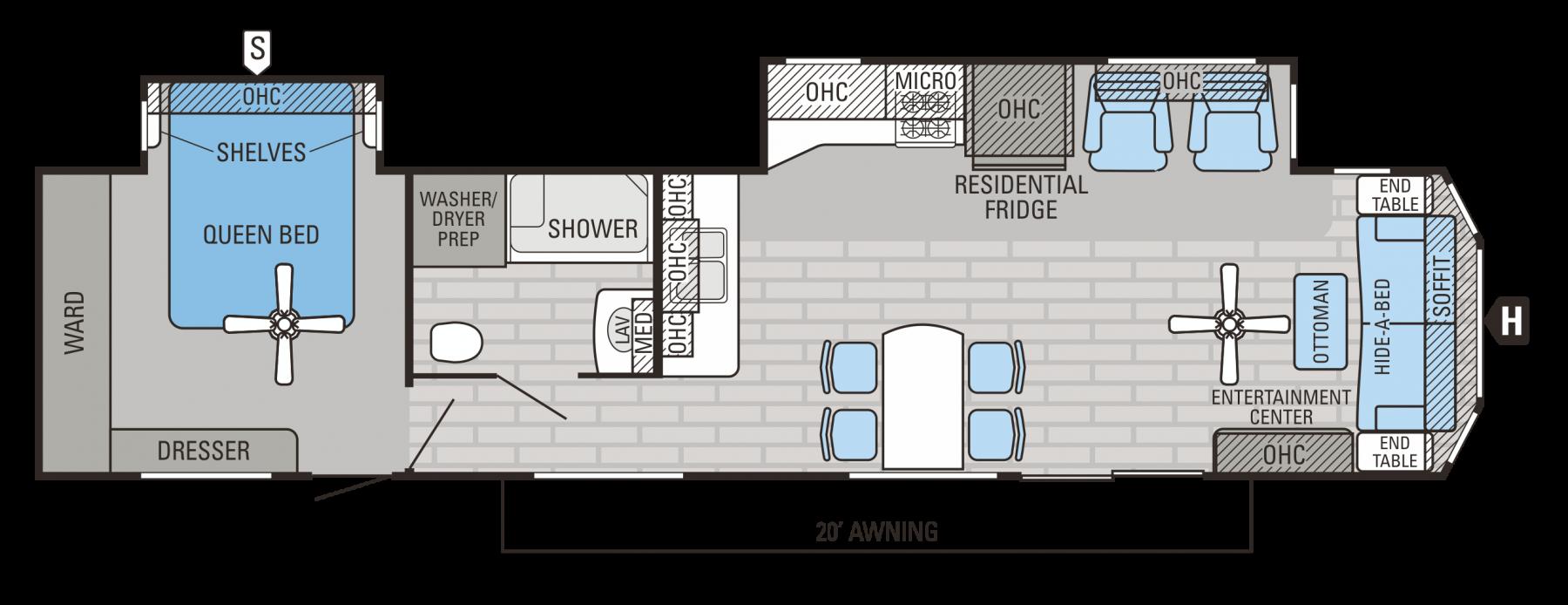 40FSDS Floorplan