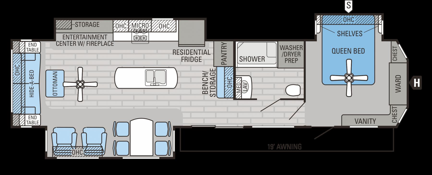 40RLTS Floorplan