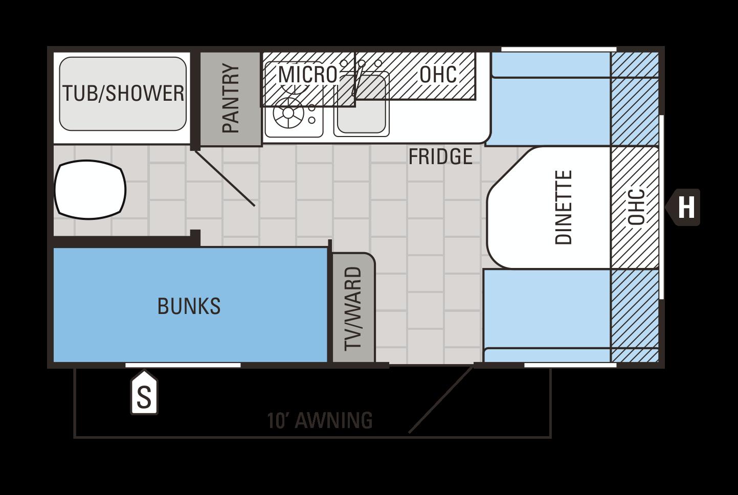 154BH Floorplan