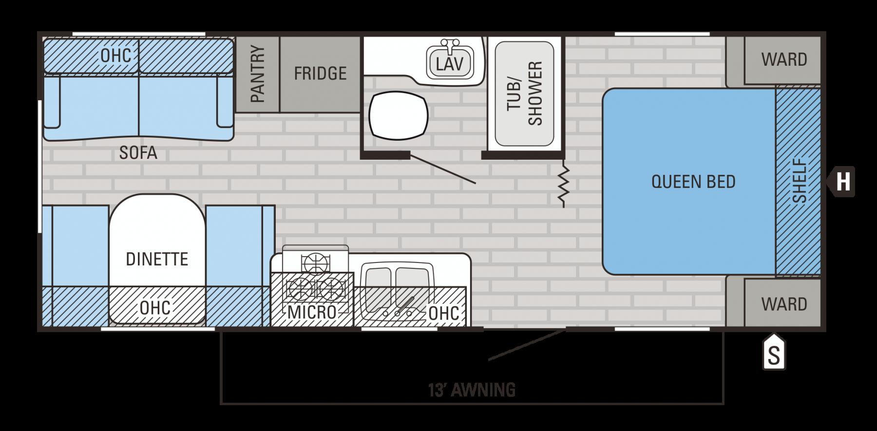 212 QBW Floorplan