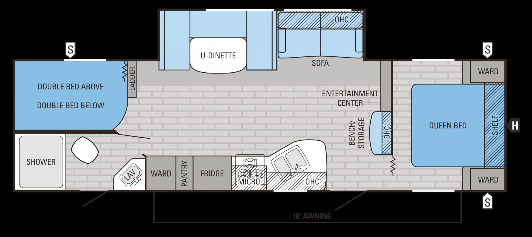 287BHSW Floorplan