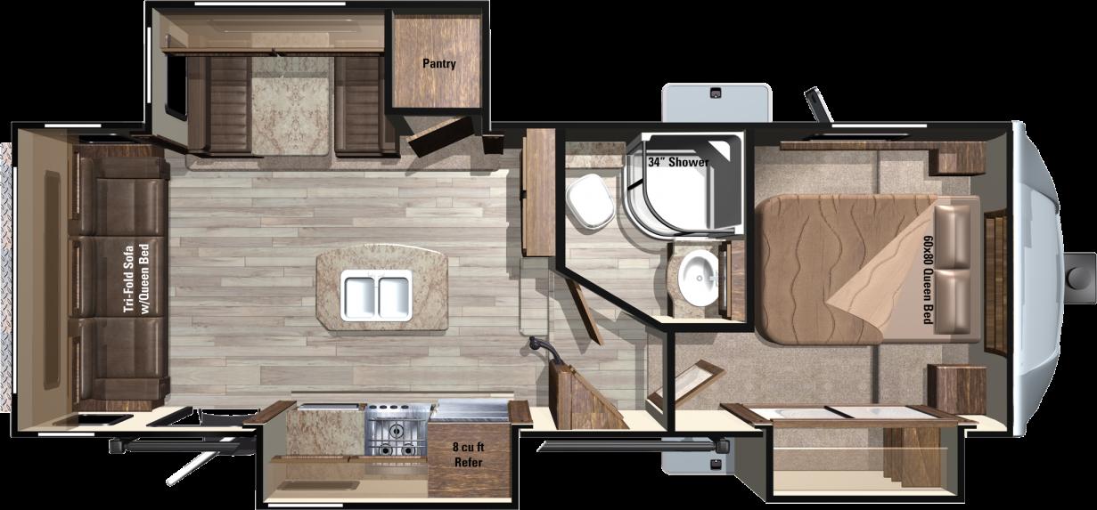 LF268TS Floorplan